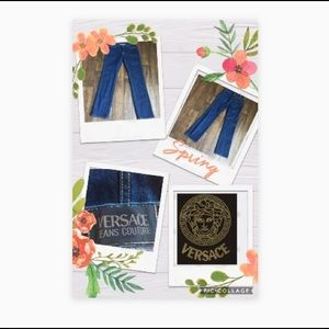 Versace Couture Authentic Dark Blue Jeans 30/44